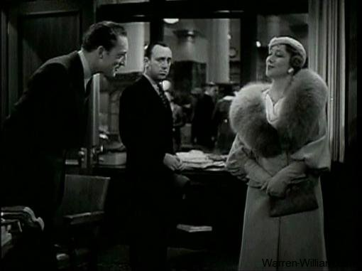 Warren William Allen Jenkins and Marjorie Gateson in Employees Entrance