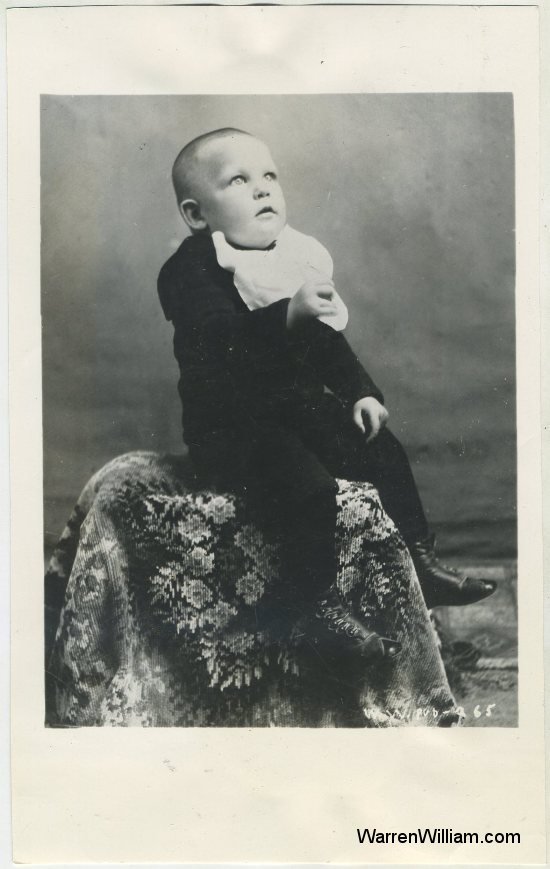 Warren William baby picture!