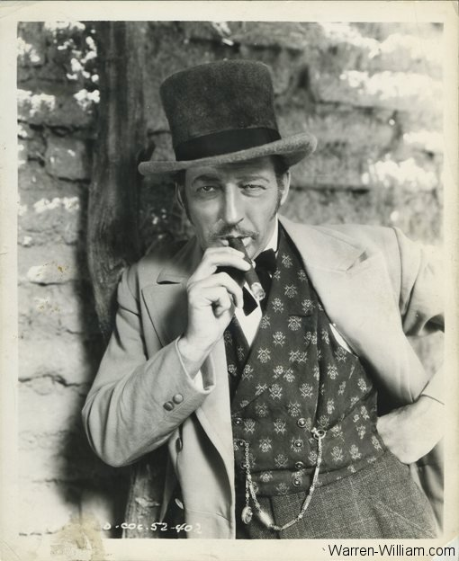 Warren William as Jefferson Carteret in Arizona