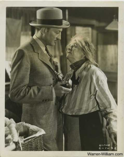 Warren William and May Robson in Lady for a Day