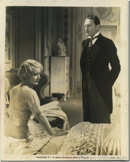 Still Photo for Madame X featuring Warren William with Gladys George