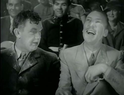Andy Devine and Warren William in Upperworld