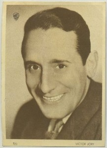 Victor Jory 1930s Aguila Trading Card