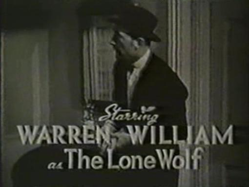 Warren William in One Dangerous Night