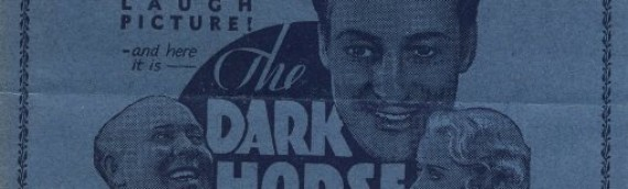 1932 Hollywood Theatre Program for The Dark Horse, Plus Odds and Ends