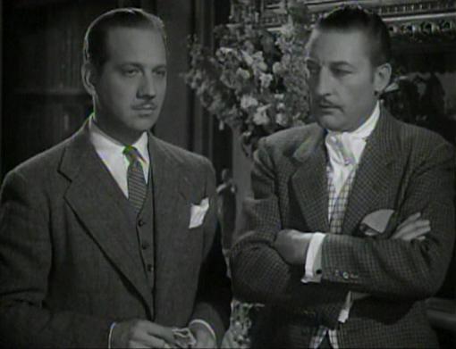 Melvyn Douglas and Warren William