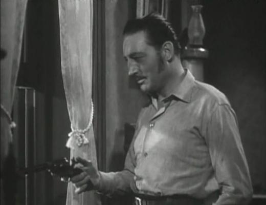 Warren William in Wild Bill Hickok Rides