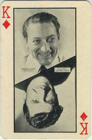 1932 P.G. Wenger Warren William-George Bancroft LA Olympics Playing Card