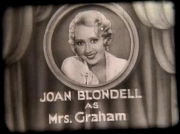 Joan Blondell in Just Around the Corner