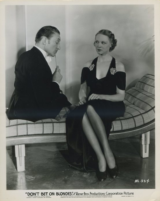 Warren William and Claire Dodd