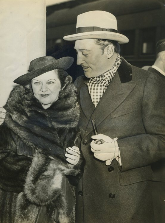 Warren William and wife Helen