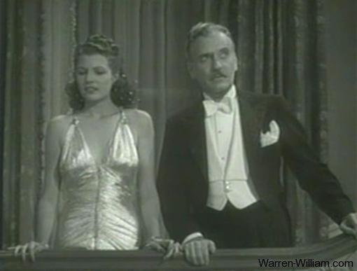 Rita Hayworth and Ralph Morgan