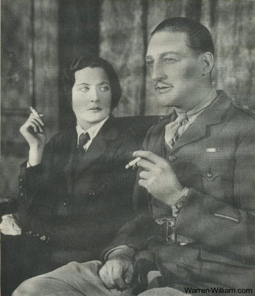 Katherine Alexander and Warren William of Step-daughters of War