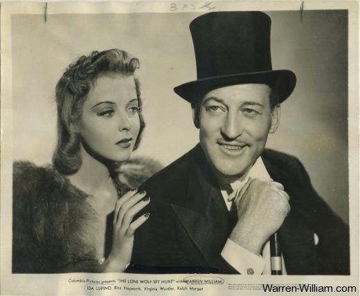 Ida Lupino and Warren William