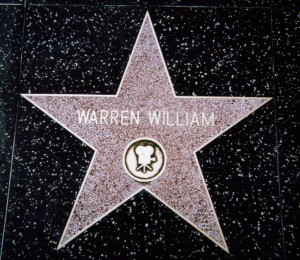 Warren William on Walk of Fame