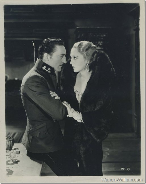 Warren William with Bebe Daniels in Honor of the Family