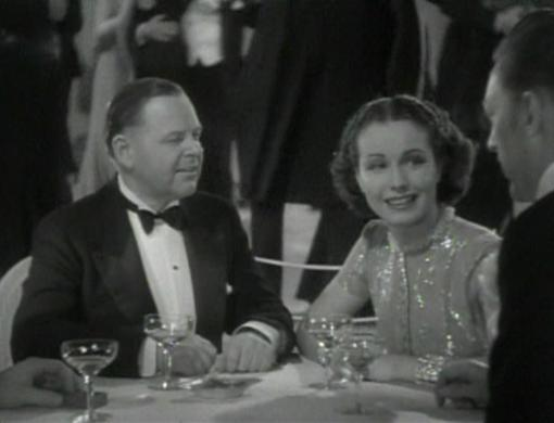 Gene Lockhart and June Travis in Times Square Playboy