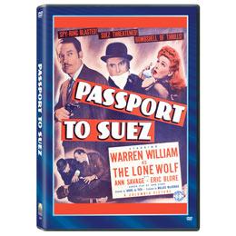 Passport to Suez starring Warren William as The Lone Wolf