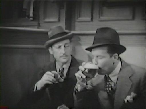 Warren William and Dick Powell