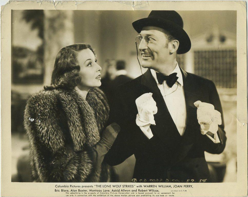 Joan Perry and Warren William