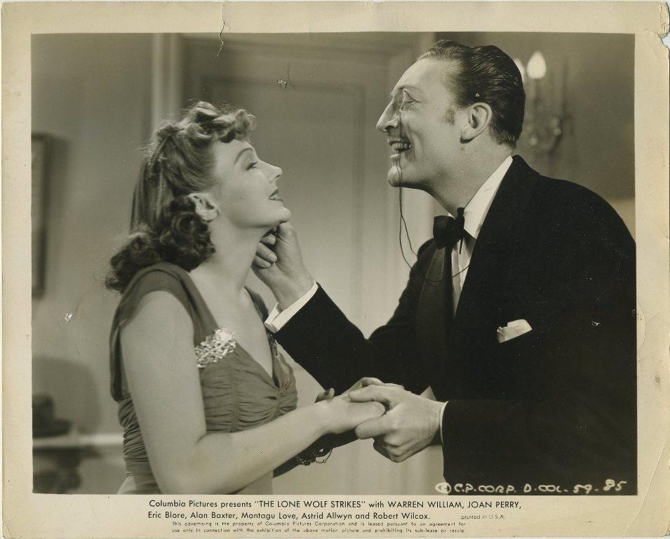 Astrid Allwyn and Warren William