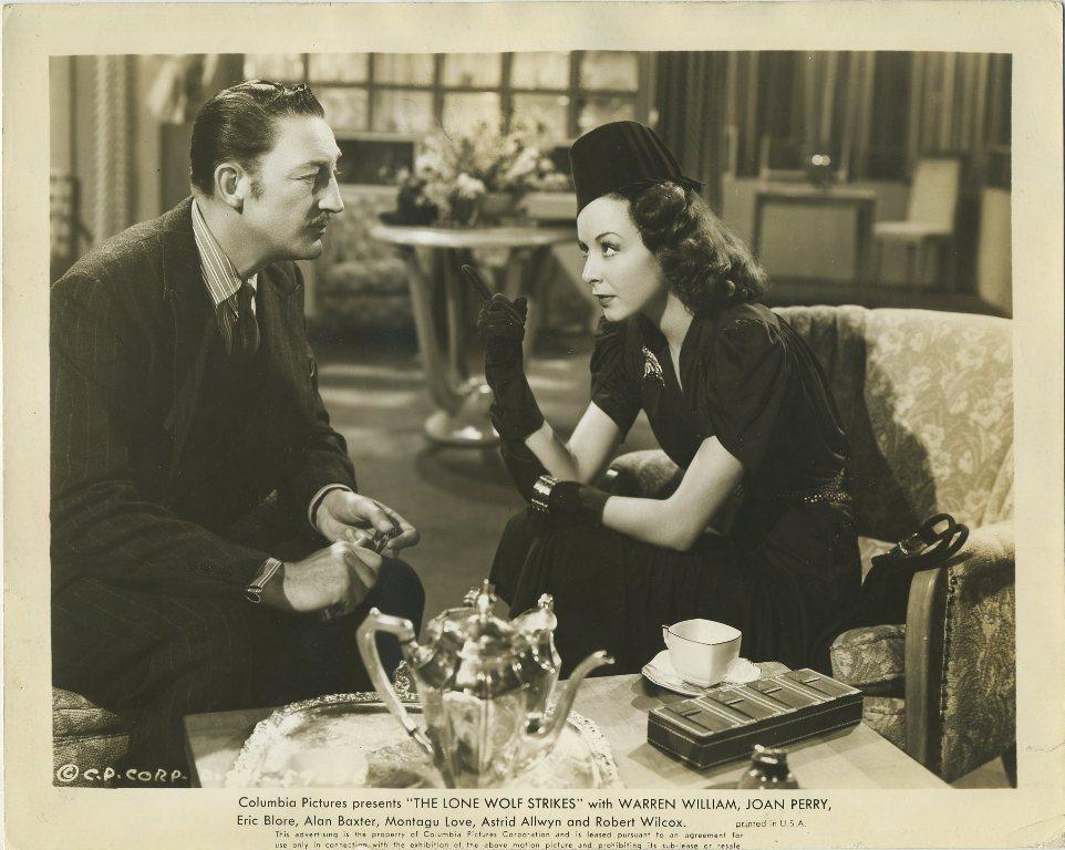 Warren William with Joan Perry