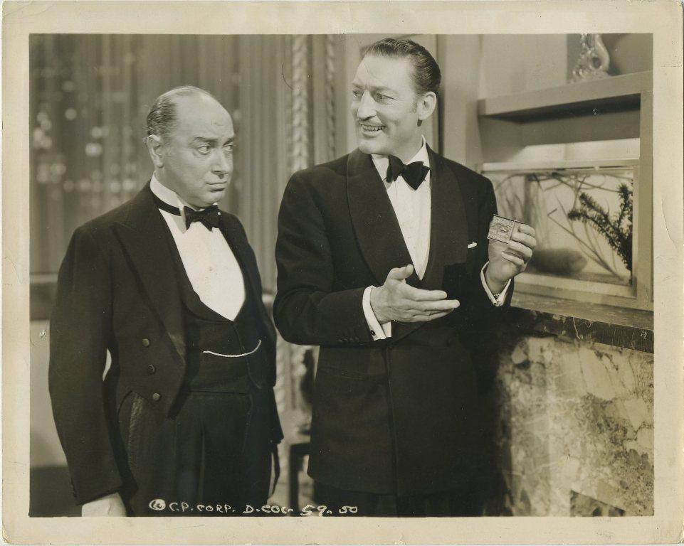 Warren William and Eric Blore