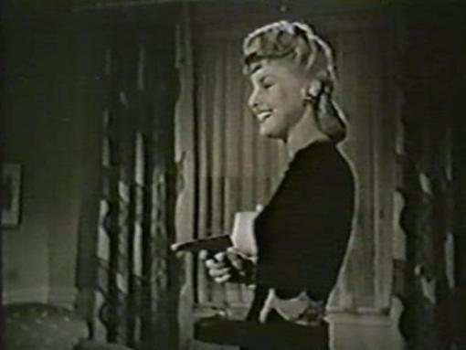 Ann Savage in One Dangerous Night