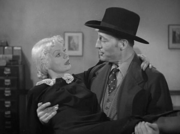 Marie Wilson and Warren William