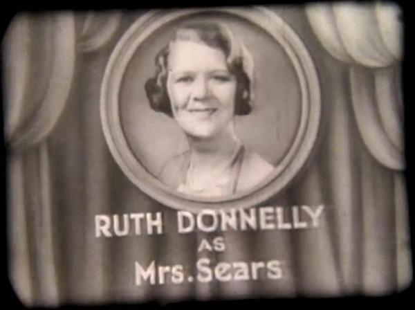 Ruth Donnelly in Just Around the Corner